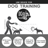 distance to use the dazer ultrasonic device on dogs