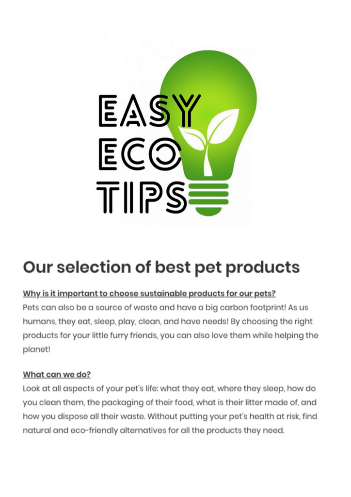 Easy Eco Tips Magazine Natusan
