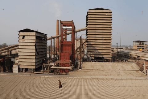 Producing energy from waste rice husks in India