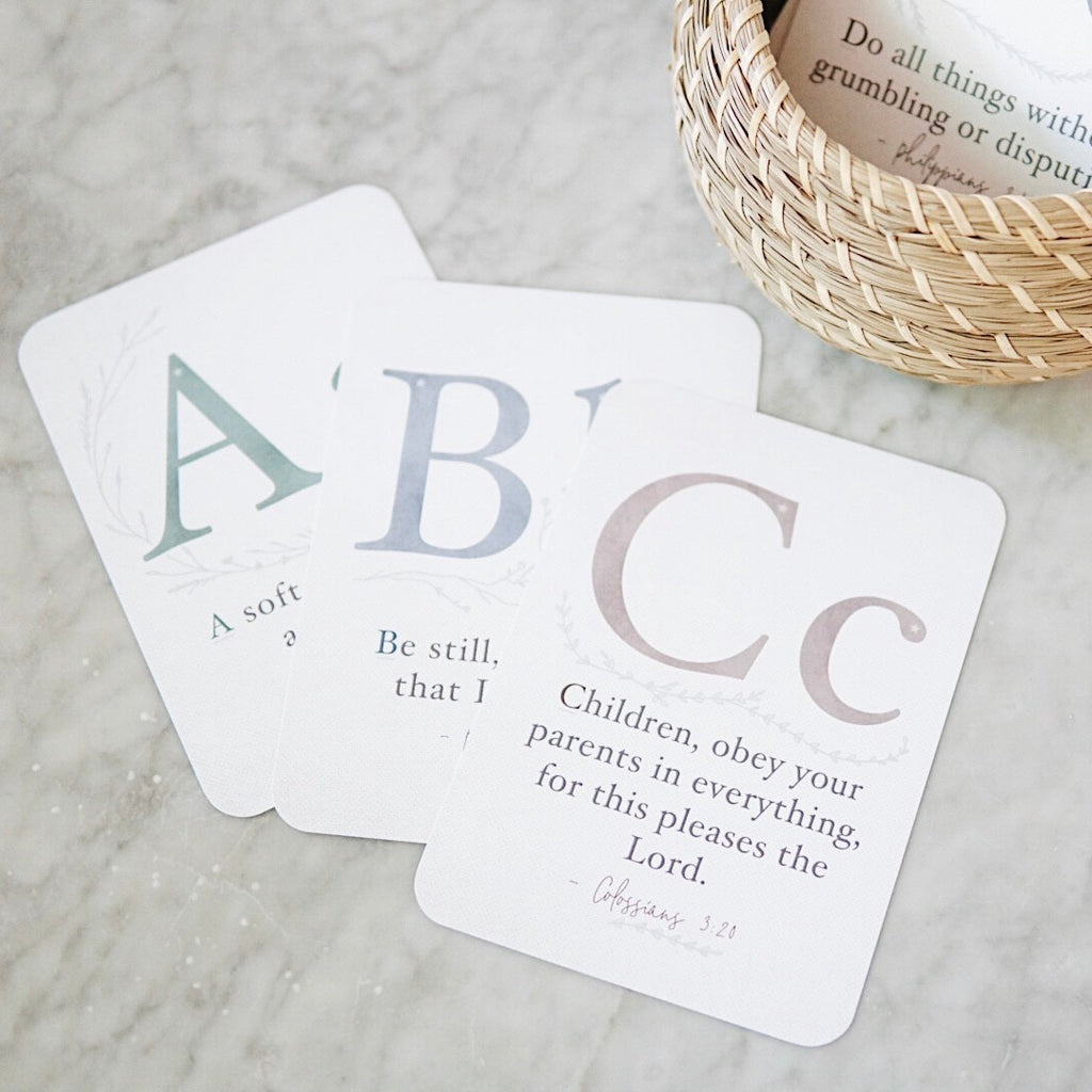 ABC Scripture Memorization Cards