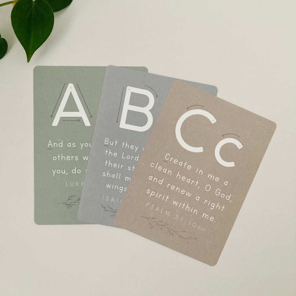 2nd Edition ABC Scripture Memorization Cards