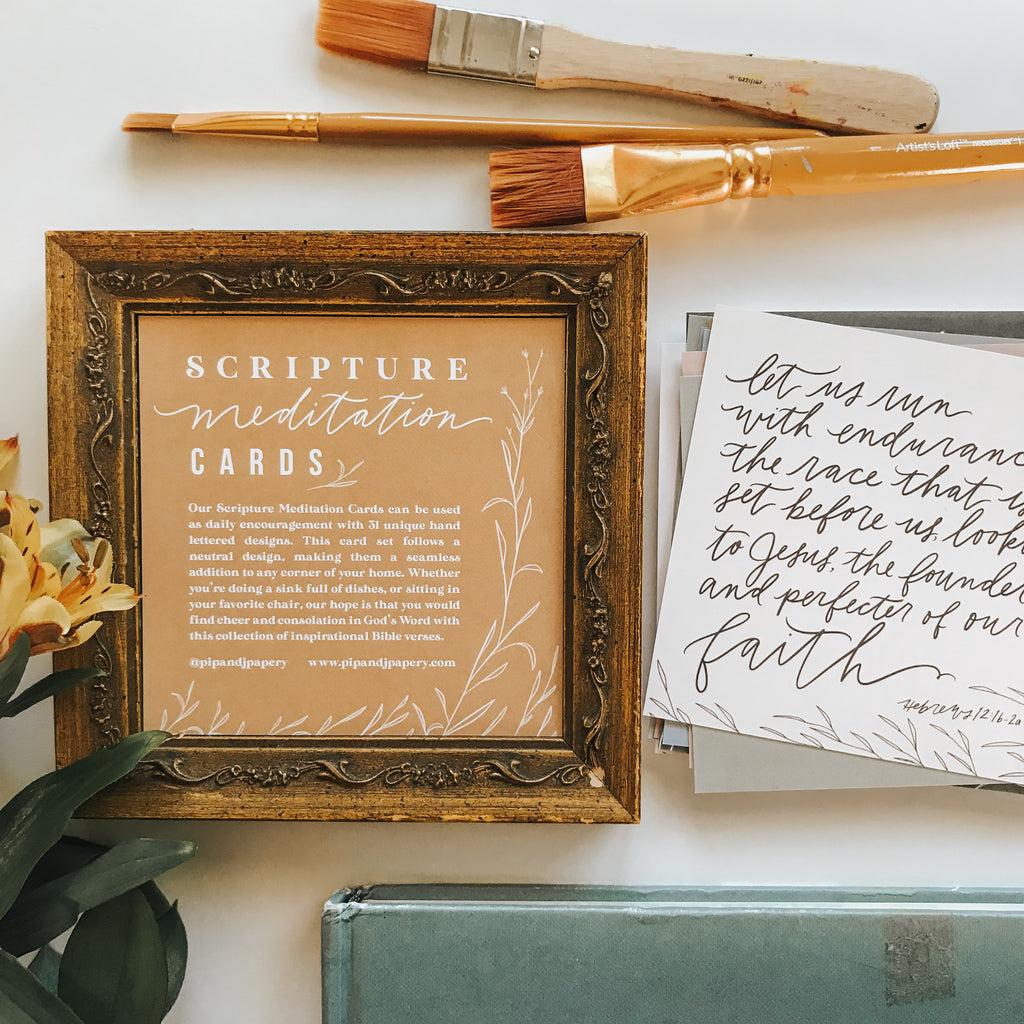 Scripture Meditation Cards