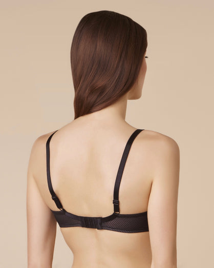 Passionata - Brooklyn Plunging T-Shirt Bra - Black