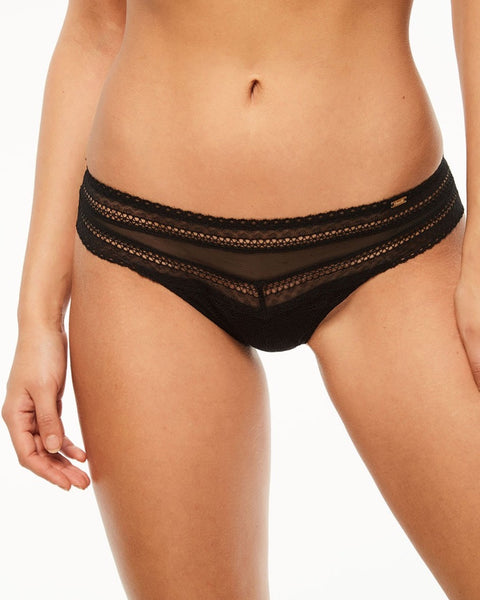 Chantelle - Festivite Brazilian Brief - Black