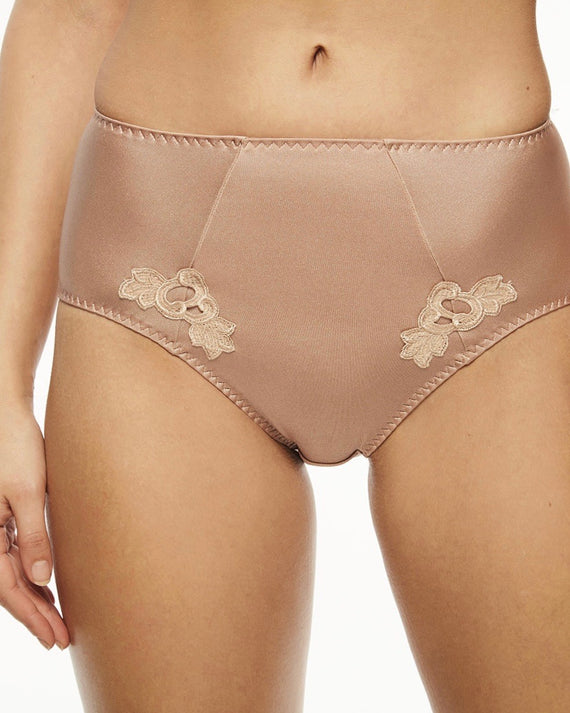 Chantelle - Hedona High Cut Brief - Nude