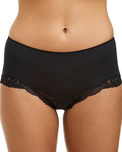 Love&Lustre - Classic Lace Boyleg - Black