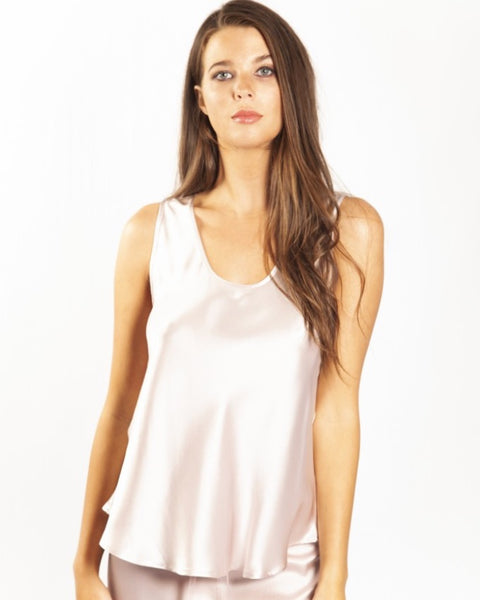 Love&Lustre - Mono Silk Camisole - Blush