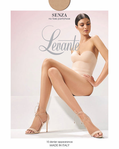 Levante - Senza Ultra Sheer No Toes Pantyhose