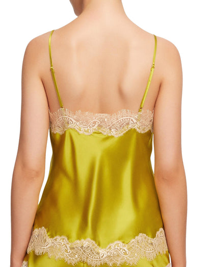 Sainted Sisters - Silk Camisole - Chartreuse Vintage
