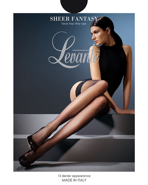 Levante - Sheer Fantasy Stay Up Stockings