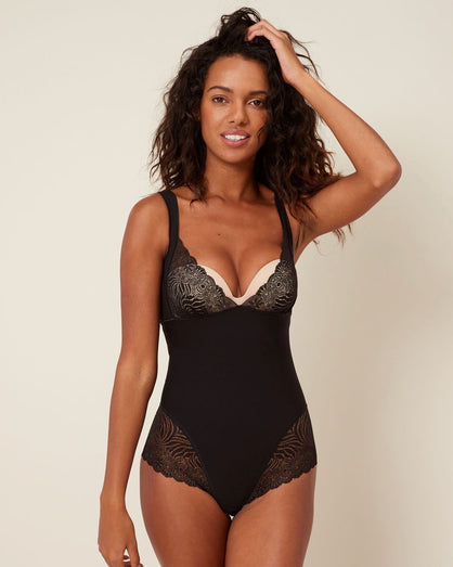 Simone Perele - Top Model Bodysuit - Black