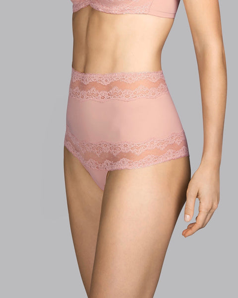 Andrés Sardá  - Verbier High Waist Brief - Powder Rose