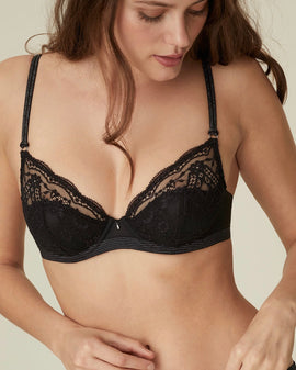 Marie Jo - Margot Balcony Padded Bra - Black