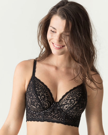 Prima Donna Twist - I Do Longline Bra - Black