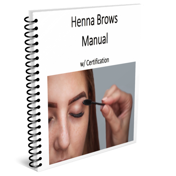 Henna Brows Training Manual w/ Certification