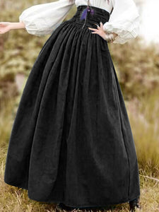 Cotton Solid Skirts