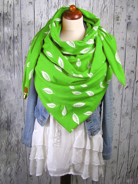 Beautiful Leaf Scarf