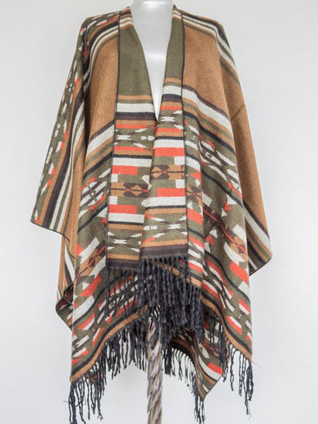 Coffee Cotton Unisex Sweet Scarves & Shawls