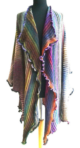 Multicolor Cotton-Blend Outerwear