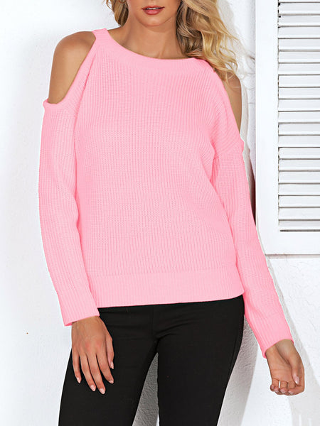 Paneled Casual Sweater