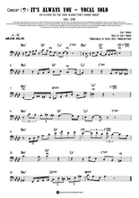 Load image into Gallery viewer, It's Always You - Trumpet Solo (Concert - Bass Clef) (PREVIEW)