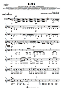 Laura - Concert Lead Sheet (PREVIEW)