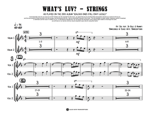 What's Luv? - Strings (PREVIEW)