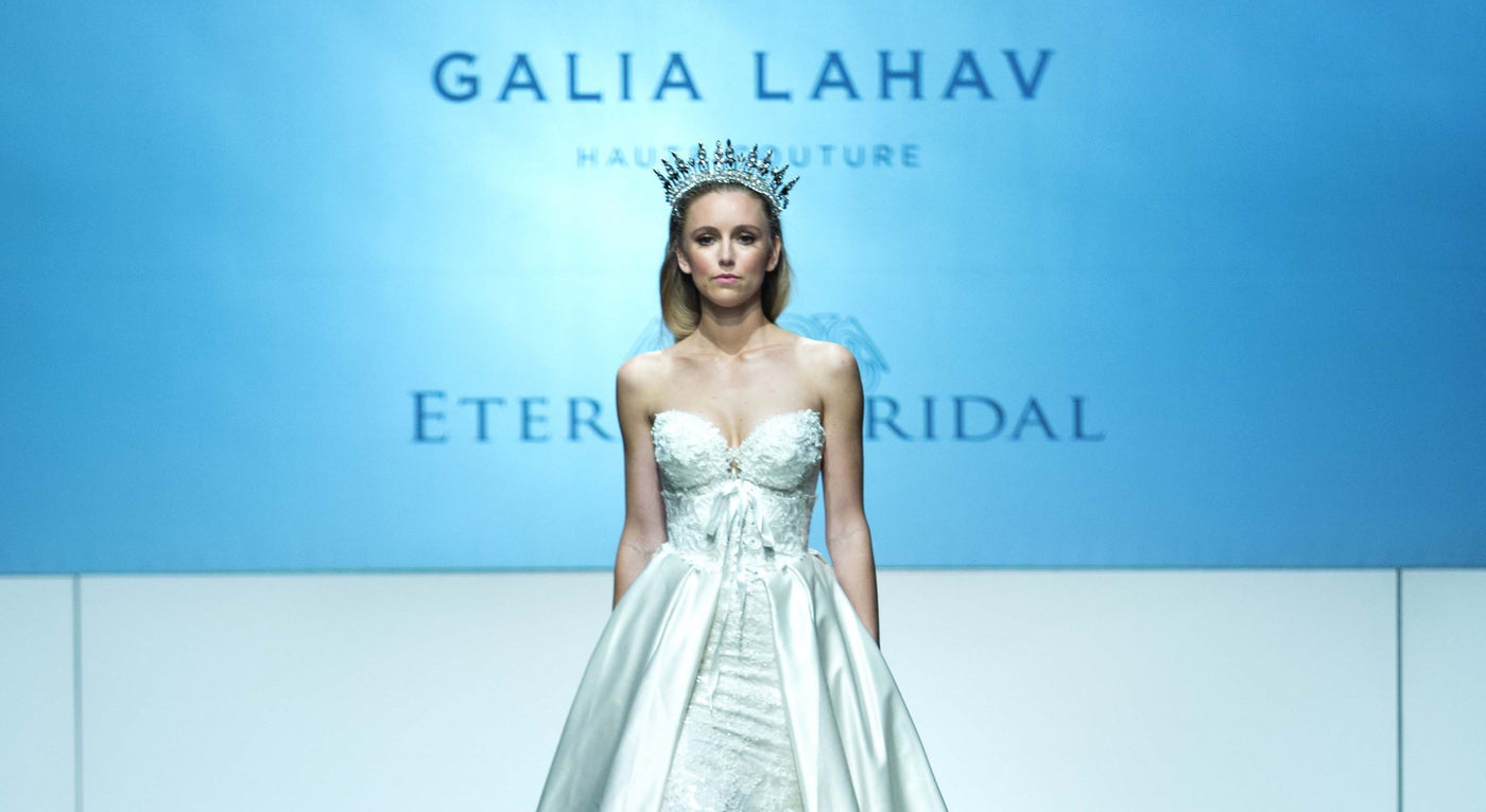 GALIA LAHAV, HAYLEY PAIGE & ENZOANI AT ABFW