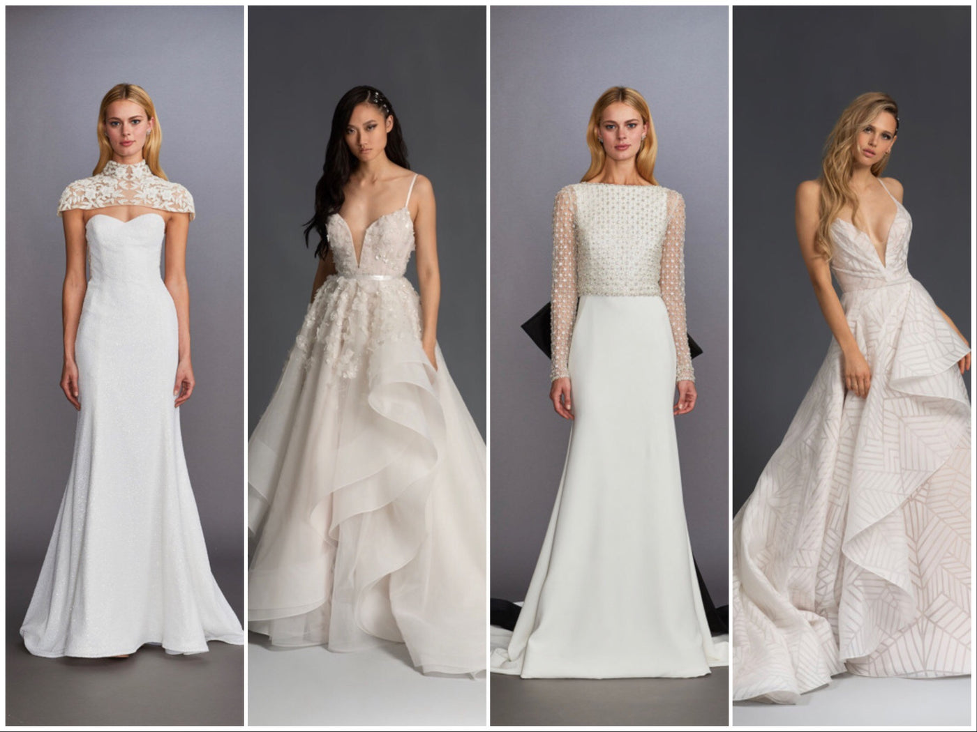 TOP JLM COUTURE TRENDS OF NEW YORK BRIDAL FASHION WEEK AND WHAT TO TRY