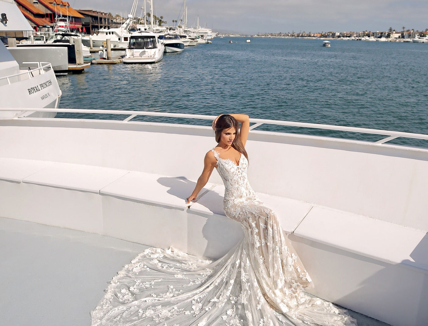 ENZOANI 2020 WEDDING DRESS COLLECTION AT NEWPORT BEACH