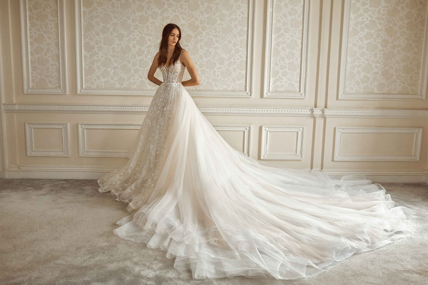 "Introducing ""Dancing Queen"" Galia Lahav Bridal Couture FW2021"