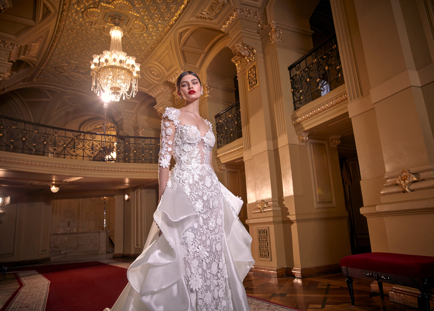 GOING BEHIND GALIA LAHAV'S LATEST NEW YORK BRIDAL FASHION WEEK COLLECITON