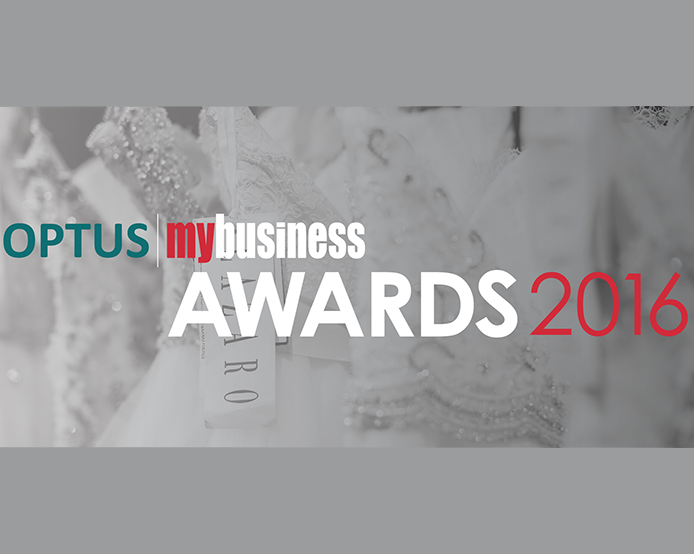 ETERNAL BRIDAL FINALIST IN OPTUS MY BUSINESS AWARDS 2016