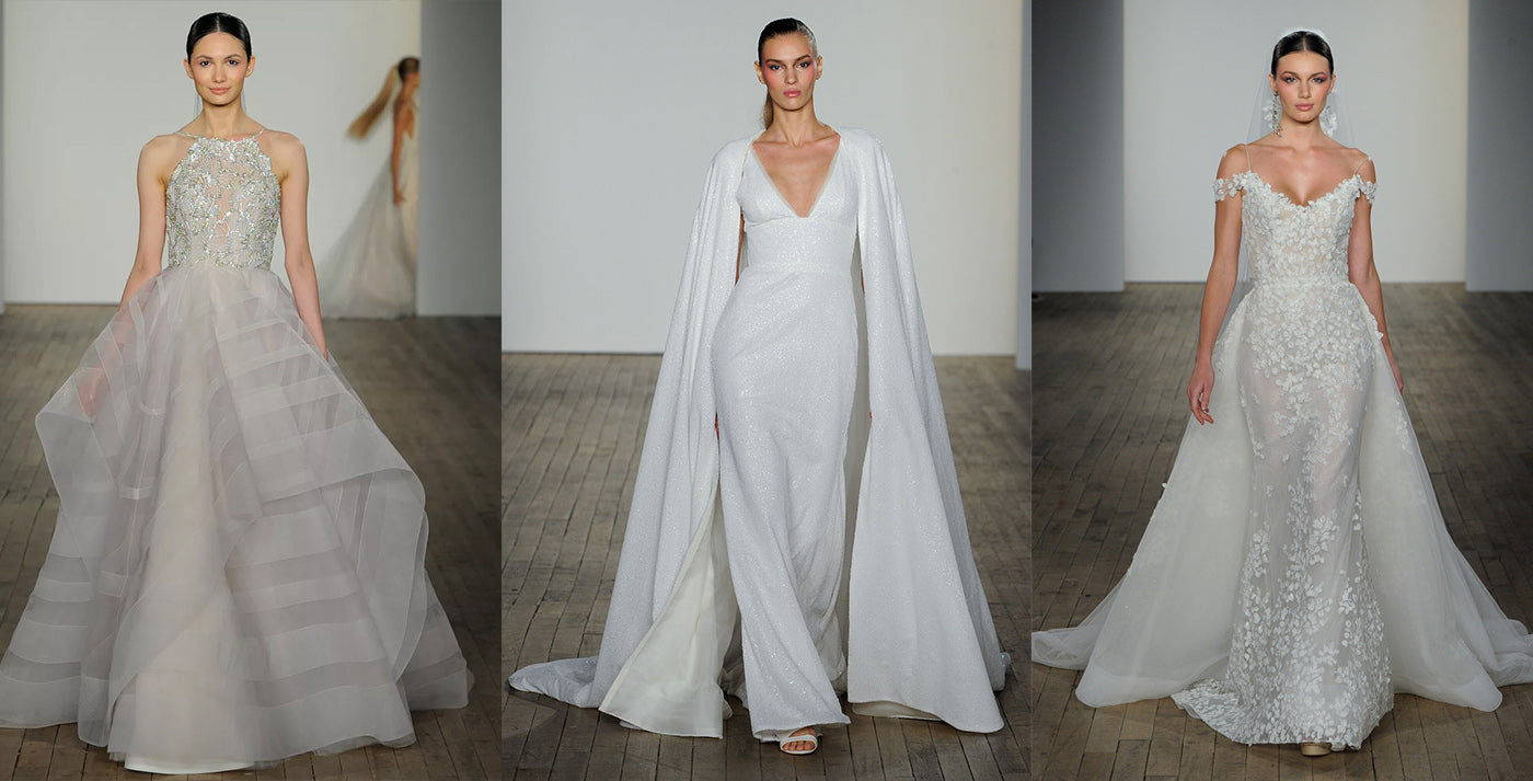 SPRING 2019 BRIDAL TRENDS : VIA THE JLM NYC CATWALK