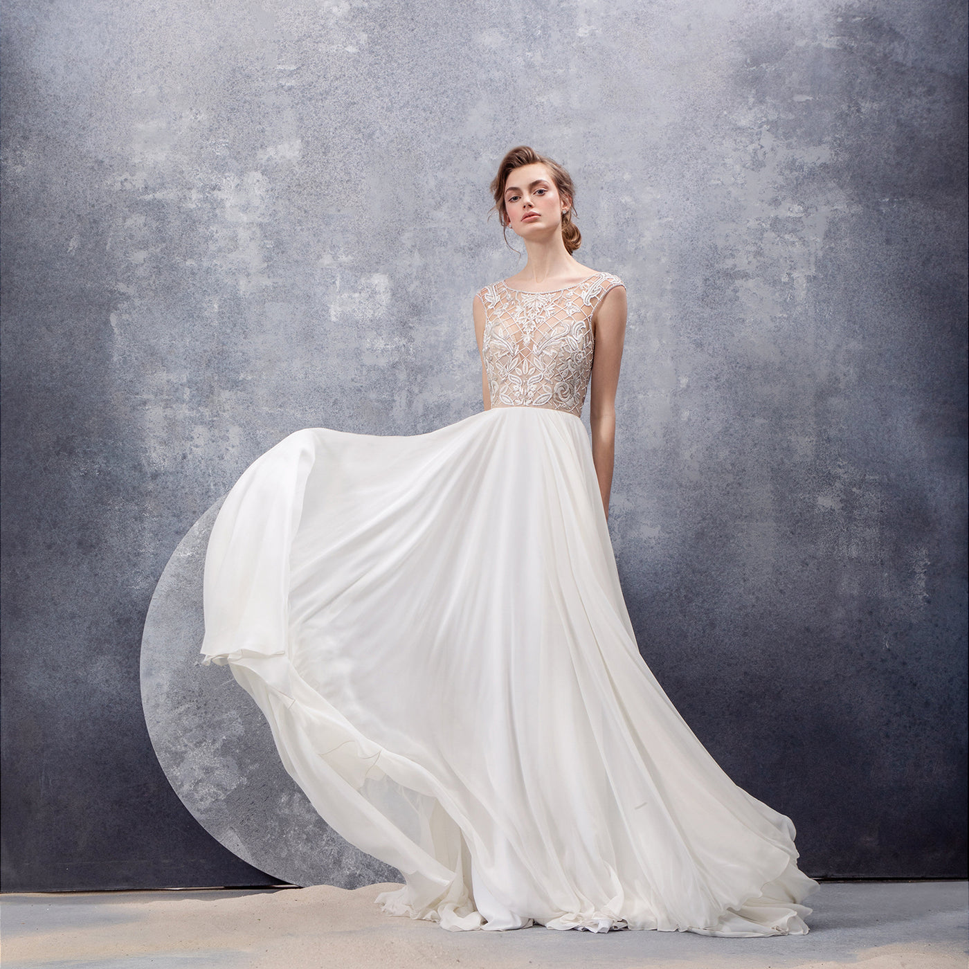 15ab4278997a7 Hayley Paige. Unexpected silhouettes, statement embellishments, and  intricate details come together to create wedding dresses ...