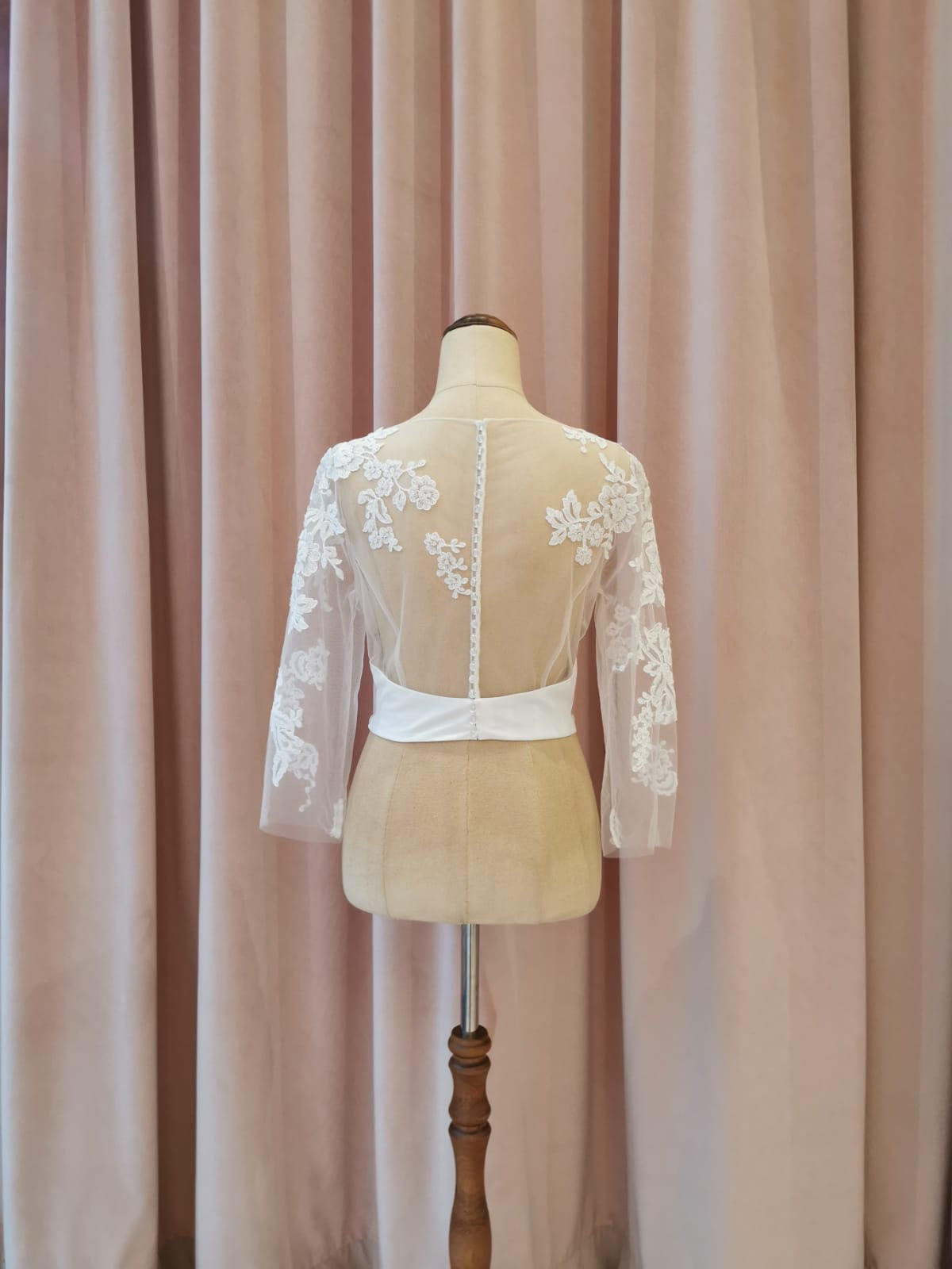Lindy - Sample Bodice - Ivory