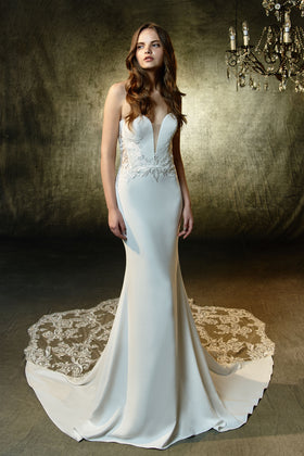 Lainey, Gown, Blue by Enzoani - Eternal Bridal
