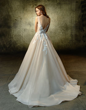 Lennox, Gown, Blue by Enzoani - Eternal Bridal