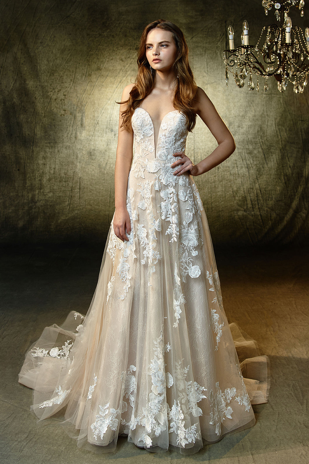 Lila, Gown, Blue by Enzoani - Eternal Bridal
