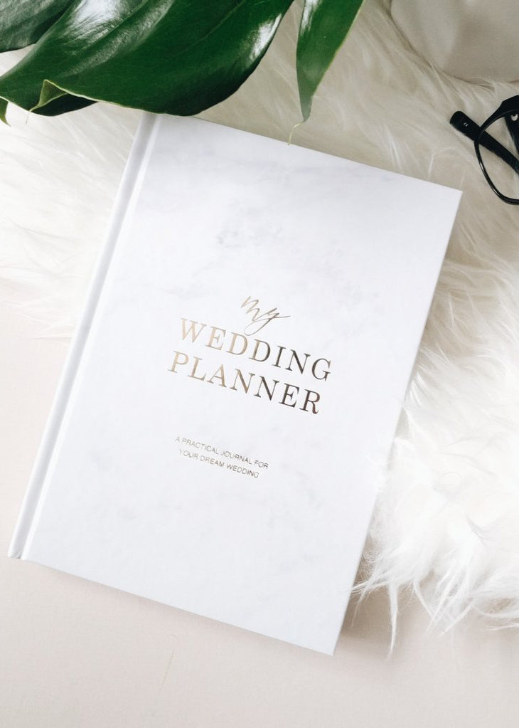 My Wedding Planner - Marble, Bridal Gifts, Blush & Gold - Eternal Bridal