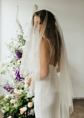 Cora II Sparkle Veil, Veils, Eternal Bridal - Eternal Bridal
