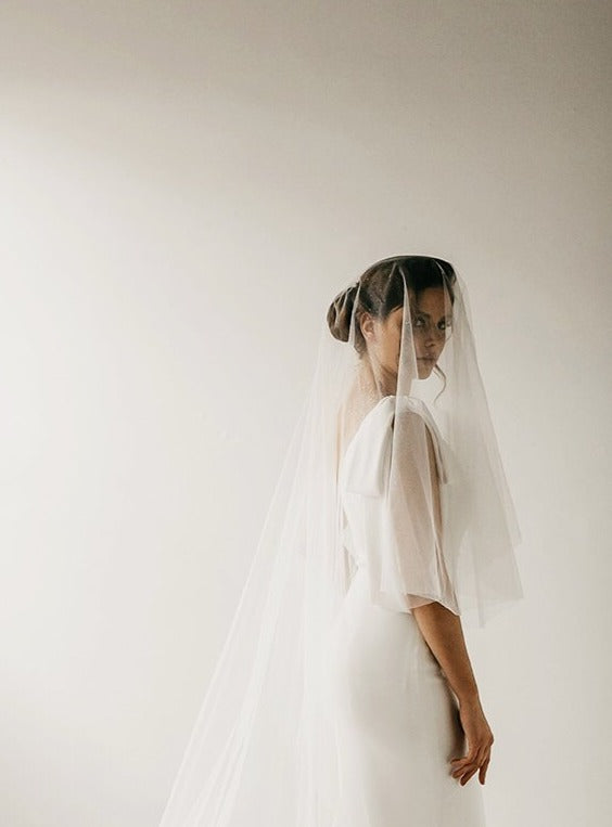 Suzzie (Soft) Veil, Veils, Eternal Bridal - Eternal Bridal