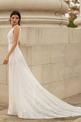Olenka, Gown, Aire Barcelona - Eternal Bridal