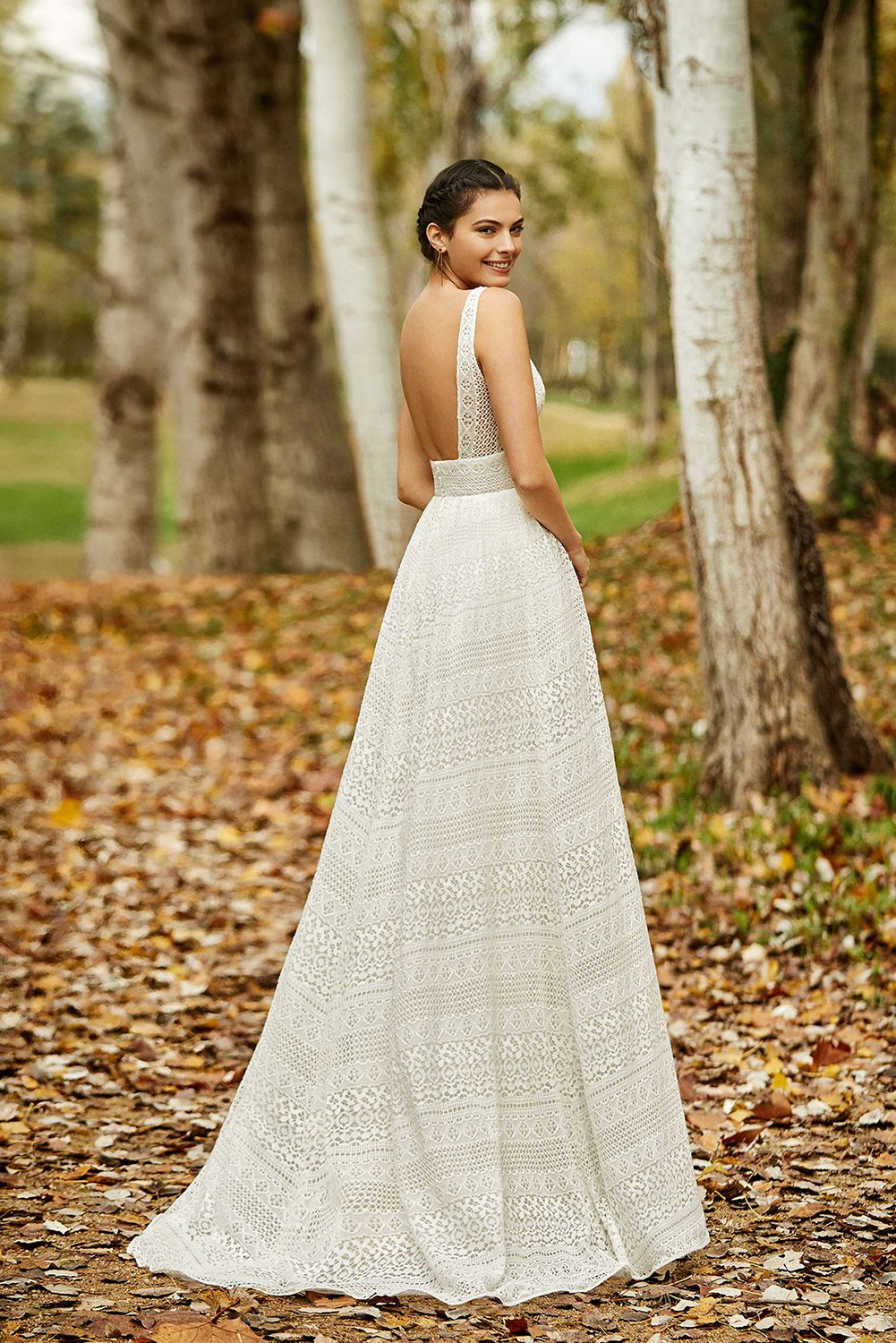 Olmeda - Sample Gown, Online Sample Sale - 1800, Aire Barcelona - Sample Gown - Eternal Bridal