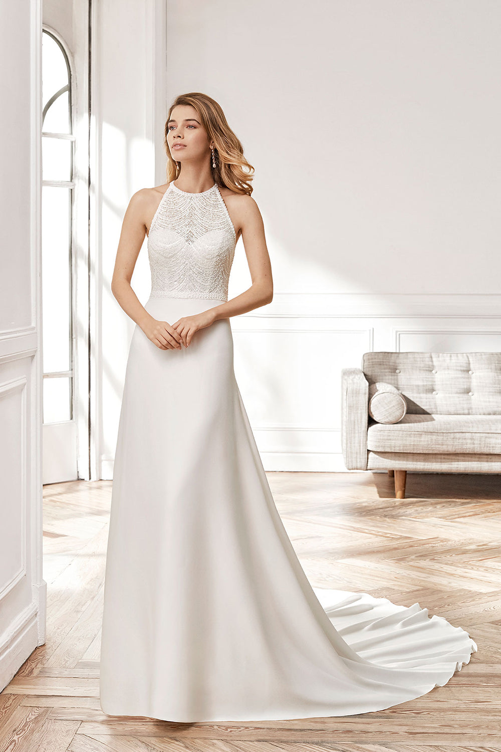 Nayeli - Coming Soon, Gown, Aire Barcelona - Eternal Bridal