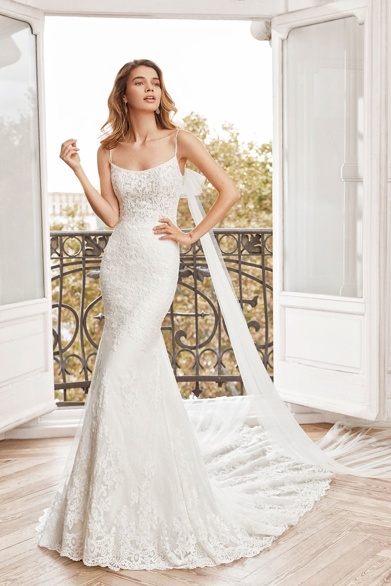 Newark, Gown, Aire Barcelona - Eternal Bridal