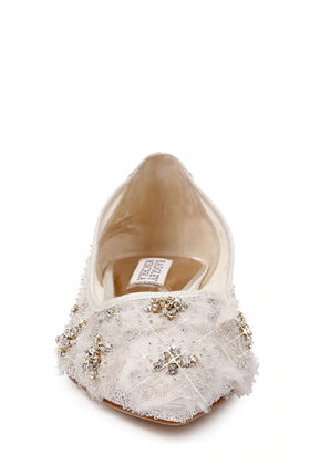 Adrienne - Last Pair, Shoes, Badgley Mischka - Eternal Bridal