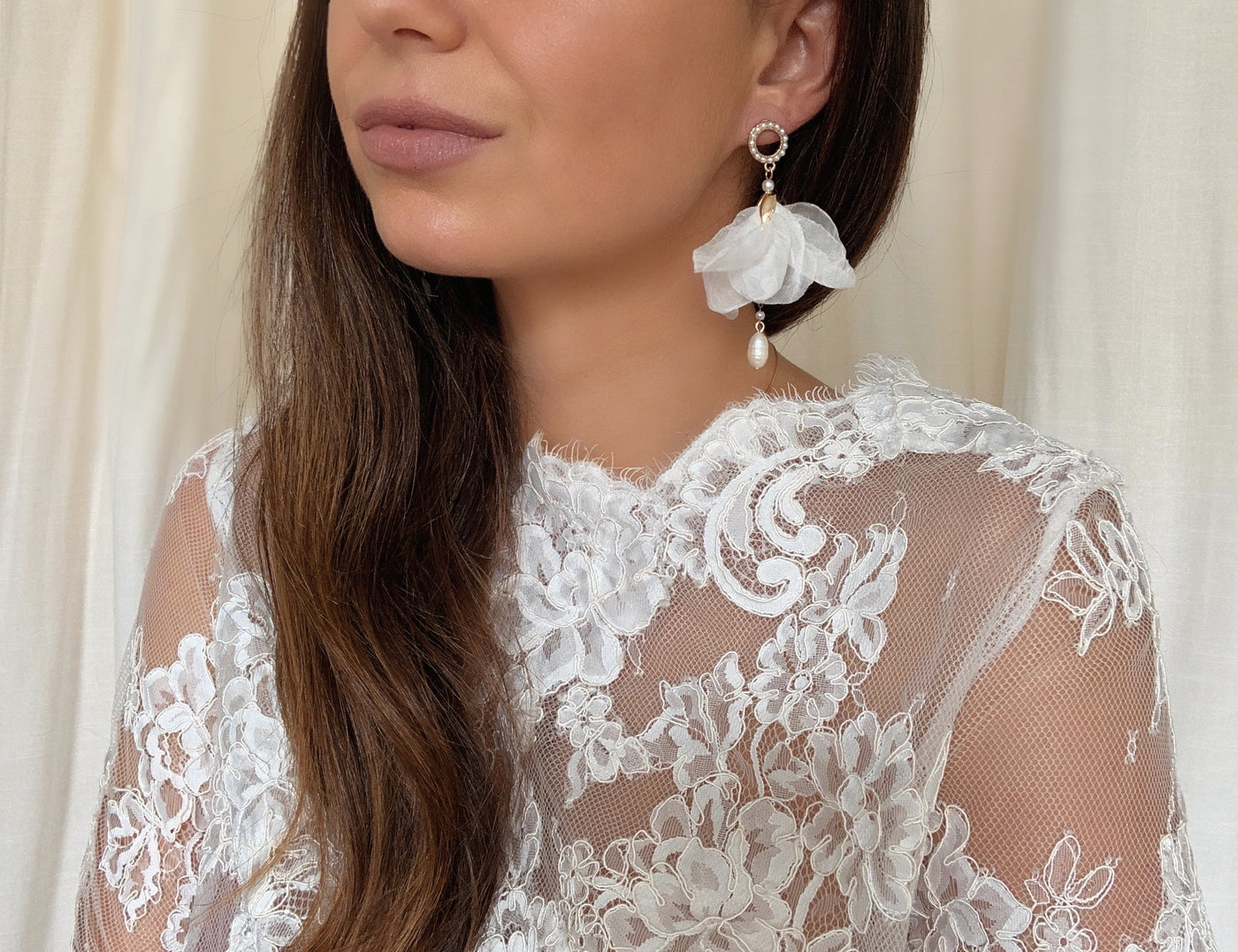 Gardenia - white, Jewellery, Eternal Bridal - Eternal Bridal