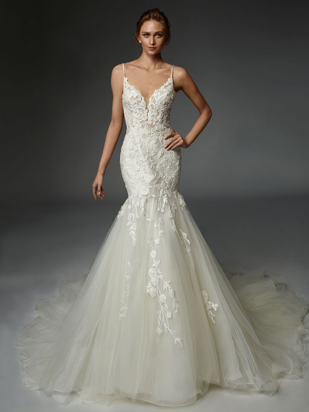 Alexandre - New, Gown, Élysée by Enzoani - Eternal Bridal