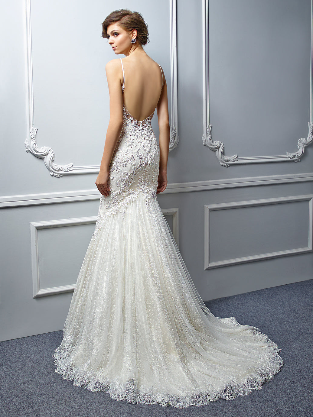 Stevie - Sample Gown, Online Sample Sale, Beautiful by Enzoani - Sample Gown - Eternal Bridal